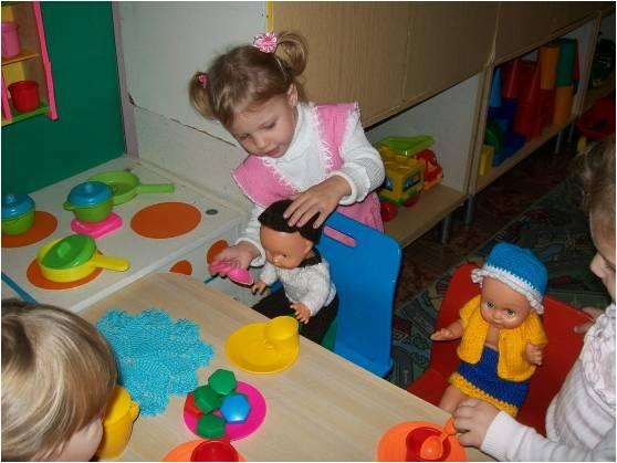предметы заместители в детском саду осп
